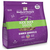 Stella & Chewy's, Cat Food, Freeze-Dried, Dinner Morsels, Duck Duck Goose (2 Sizes)
