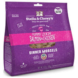 Stella & Chewy's, Cat Food, Freeze-Dried, Dinner Morsels, Yummy Lickin' Salmon & Chicken (2 Sizes)