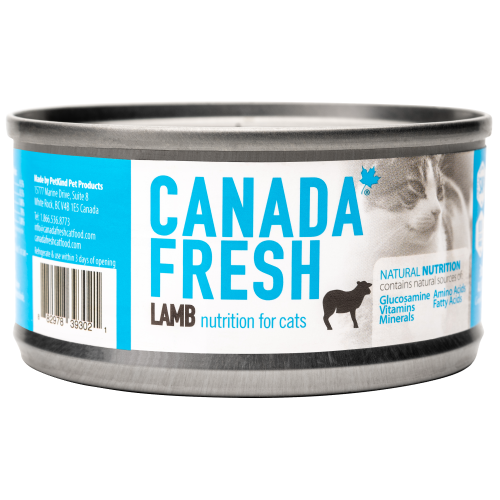 Canada Fresh, Cat Wet Food, Lamb (By Carton)