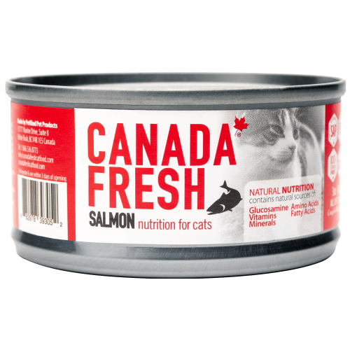 Canada Fresh, Cat Wet Food, Salmon (By Carton)