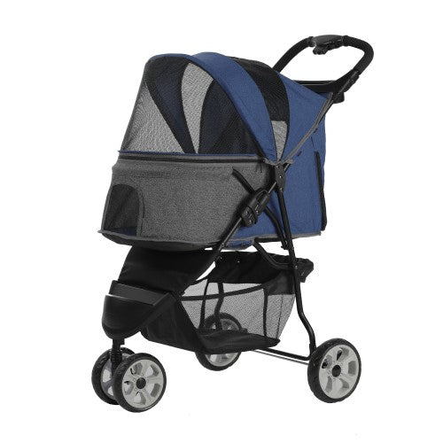 Petty Man, Dog & Cat Accessories, Pet Stroller, Model 818