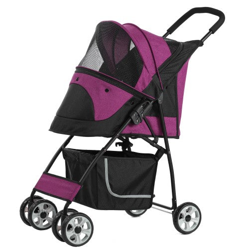 Petty Man, Dog & Cat Accessories, Pet Stroller, Model 869