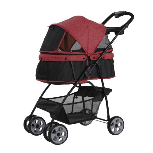 Petty Man, Dog & Cat Accessories, Pet Stroller, Model 879