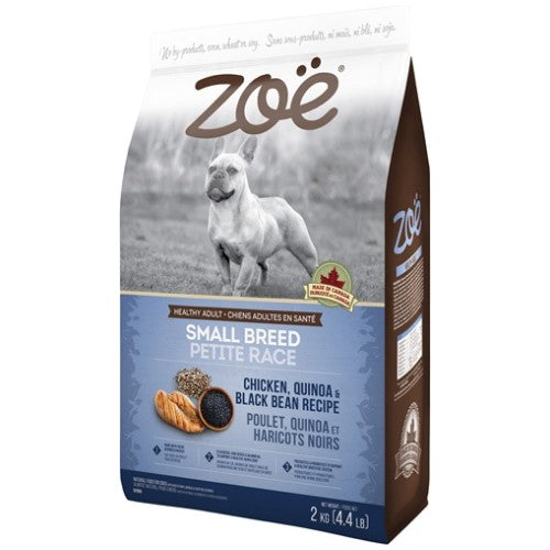 Zoe, Dog Dry Food, Chicken, Quinoa & Black Bean (3 Sizes)