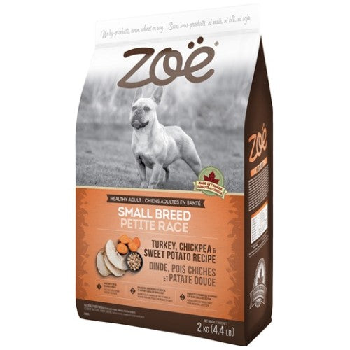Zoe, Dog Dry Food, Turkey, Chickpea & Sweet Potato (3 Sizes)