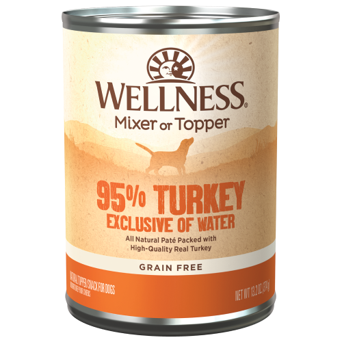 Wellness Complete Health, Dog Food, Mixers & Toppers, Grain Free, 95% Turkey