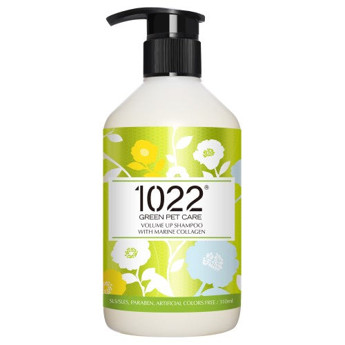 1022 Green Pet Care, Dog & Cat Hygiene, Shampoos & Conditioners, Volume Up Shampoo with Marine Collagen