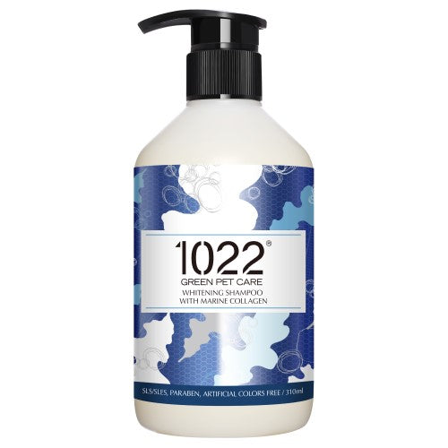 1022 Green Pet Care, Dog & Cat Hygiene, Shampoos & Conditioners, Whitening Shampoo with Marine Collagen
