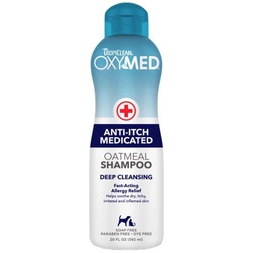 TropiClean, Dog & Cat Healthcare, Others, OxyMed Anti-Itch Medicated Oatmeal Shampoo