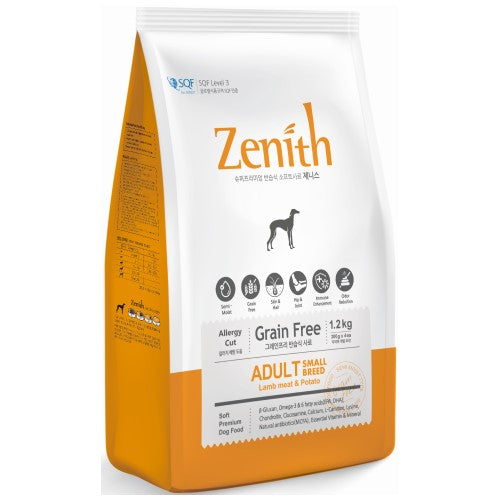 BowWow, Dog Dry Food, Zenith, Soft Kibble, Small Breed, Lamb & Potato