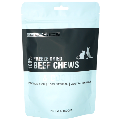 Freeze Dry Australia, Dog & Cat Treats, Freeze Dried, Beef Chews