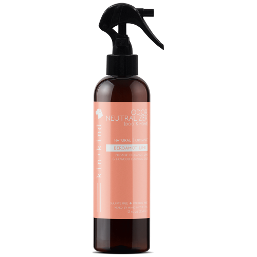 Kin+Kind, Dog & Cat Hygiene, Mists & Waterless Baths, Bergamot Lime Deodorising Spray