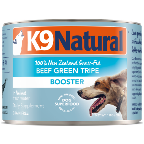 K9 Natural, Dog Food, Boosters, Beef Green Tripe