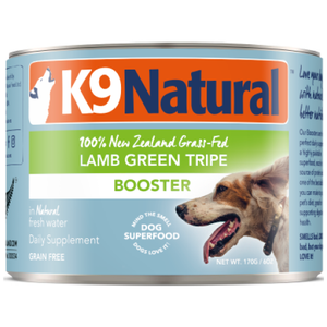 K9 Natural, Dog Food, Boosters, Lamb Green Tripe