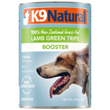 K9 Natural, Dog Food, Boosters, Lamb Green Tripe (By Carton)