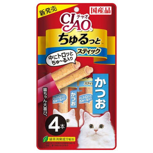 Ciao, Cat Treats, Churutto, Katsuo (Tuna)
