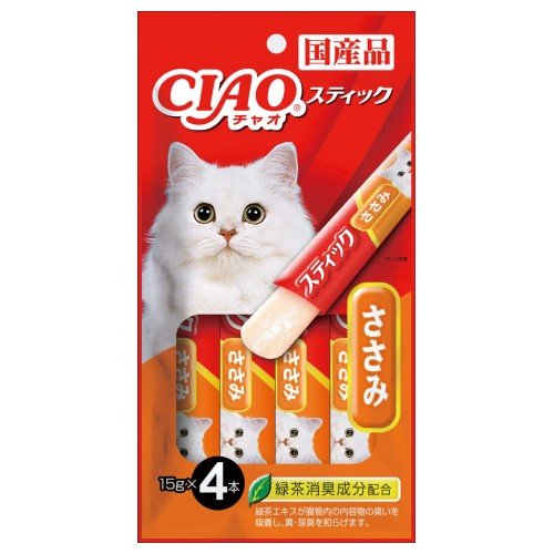 Ciao, Cat Treats, Stick In Jelly, Chicken Fillet