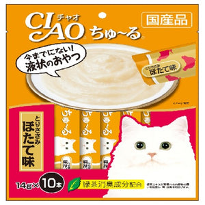 Ciao, Cat Treats, Churu, Chicken Fillet Scallop