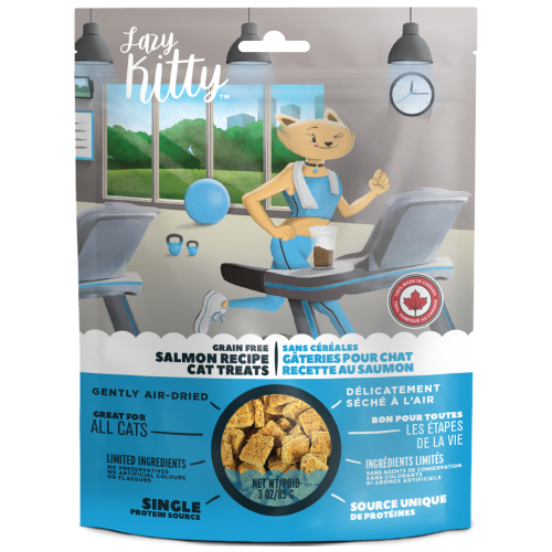 Canadian Jerky, Cat Treats, Air Dried, Lazy Kitty, Grain Free Salmon