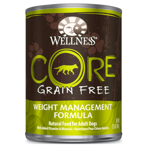 Wellness Core, Dog Wet Food, Grain Free, Pate, Weight Management, Chicken, Pork Liver & Whitefish