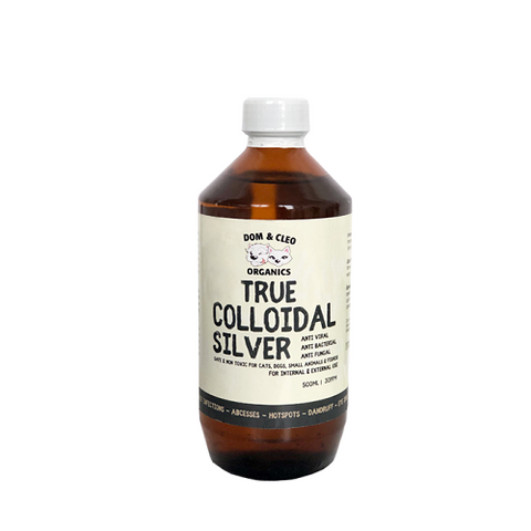 Dom & Cleo, Dog and Cat Supplements, Colloidal Silver