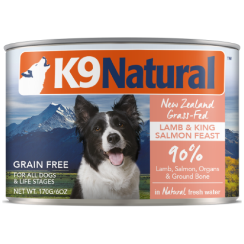 K9 Natural, Dog Wet Food, Lamb & Salmon (By Carton)
