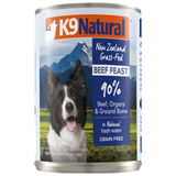 K9 Natural, Dog Wet Food, Beef (By Carton)