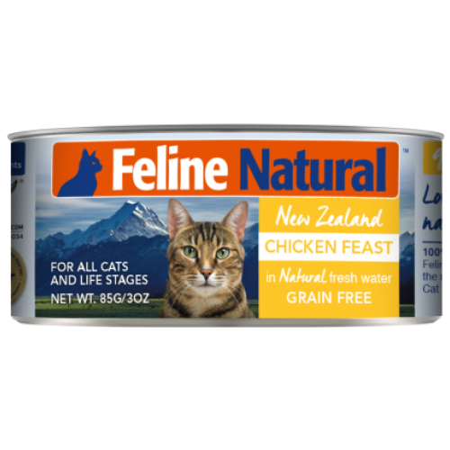 Feline Natural, Cat Wet Food, Chicken (By Carton)