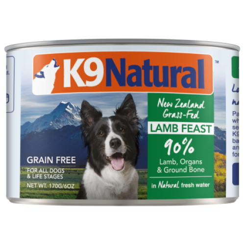 K9 Natural, Dog Wet Food, Lamb (By Carton)