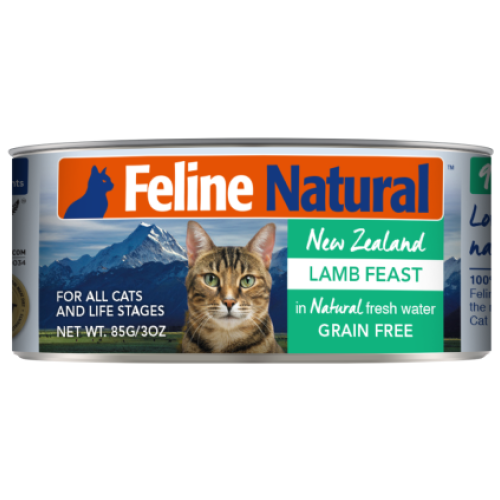 Feline Natural, Cat Wet Food, Lamb