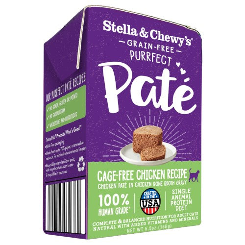 Stella & Chewy's, Cat Wet Food, Puurfect Pate, Cage-Free Chicken