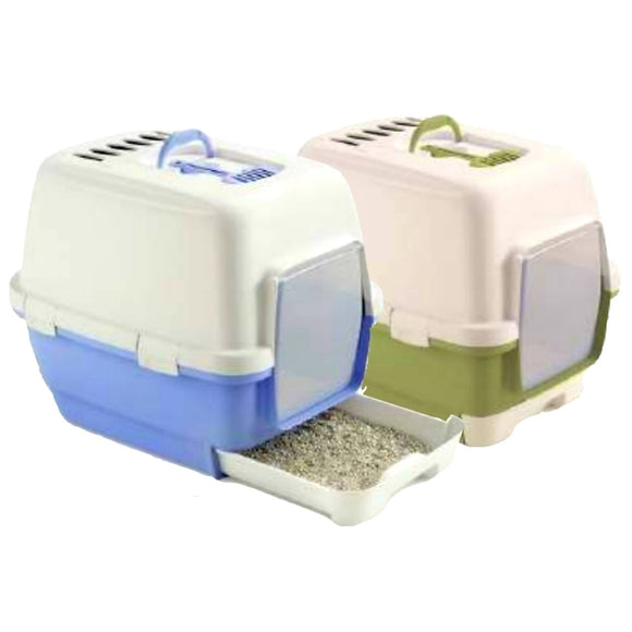 Stefanplast, Cat Hygiene, Litter Trays & Boxes, Cathy Clever & Smart (2 Colours)
