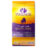 Wellness Complete Health, Dog Dry Food, Grain Free, Deboned Chicken & Chicken Meal