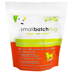 Smallbatch, Dog Food, Freeze Dried, Sliders, Chicken