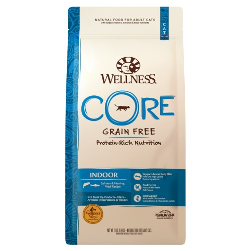 Wellness Core, Cat Dry Food, Grain Free, Indoor, Salmon & Herring Meal