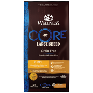 Wellness Core, Dog Dry Food, Large Breed, Puppy, Deboned Chicken, Chicken & Turkey Meal