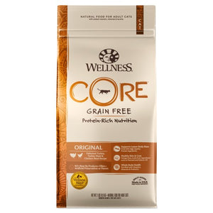 Wellness Core, Cat Dry Food, Grain Free, Original, Deboned Turkey, Turkey & Chicken Meal