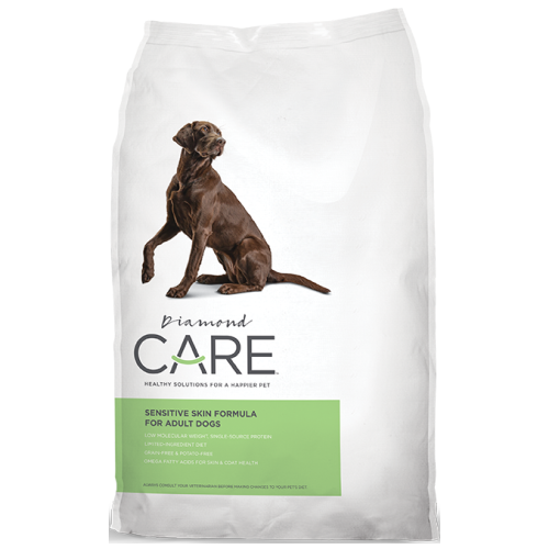 Diamond Care, Dog Dry Food, Adult, Sensitive Skin (2 Sizes)