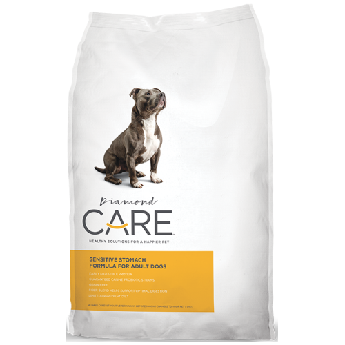 Diamond Care, Dog Dry Food, Adult, Sensitive Stomach (2 Sizes)