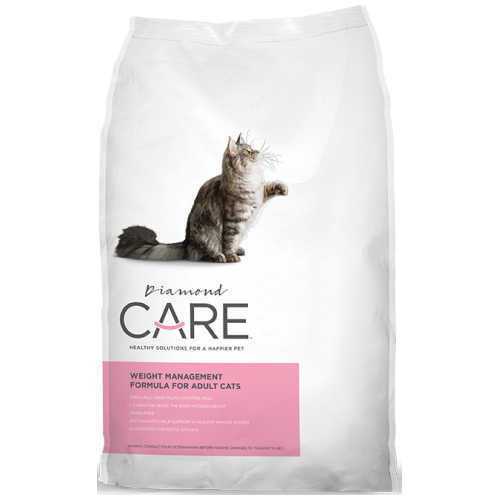 Diamond Care, Cat Dry Food, Adult, Weight Management