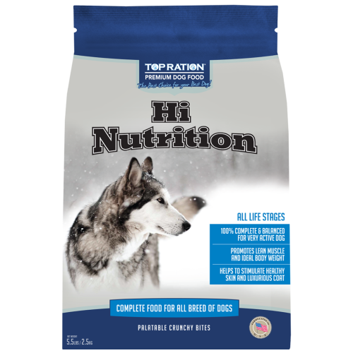 TopRation, Dog Dry Food, Hi Nutrition (2 Sizes)