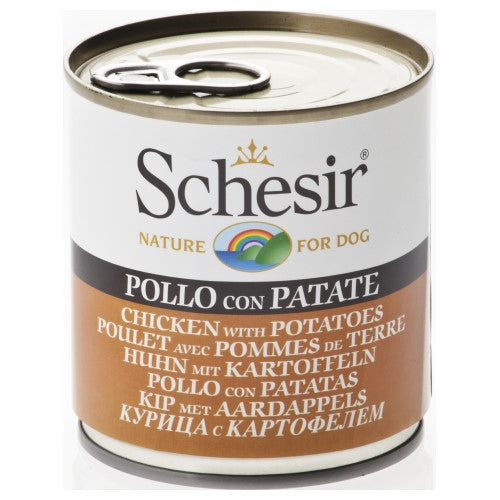Schesir, Dog Wet Food, Chicken with Potatoes (By Carton)