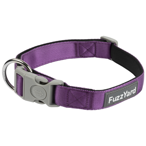 FuzzYard, Dog Collars & Harnesses, Grape Collar (3 Sizes)
