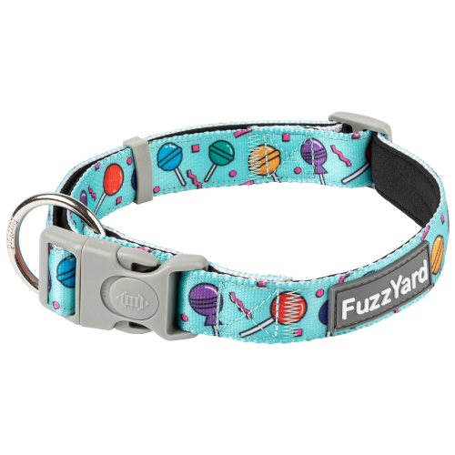 FuzzYard, Dog Collars & Harnesses, Hey Suckers! Collar (3 Sizes)