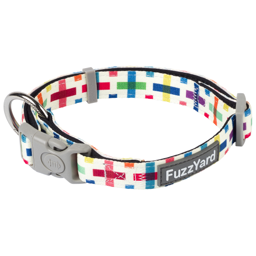 FuzzYard, Dog Collars & Harnesses, Jenga Collar (3 Sizes)