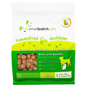 Smallbatch, Dog & Cat Treats, Freeze Dried, Grain Free, Smallbites, Duck Bites