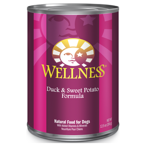 Wellness Complete Health, Dog Wet Food, Pate, Duck & Sweet Potato