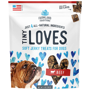 Farmland Traditions, Dog Treats, Tiny Loves™ Beef Jerky