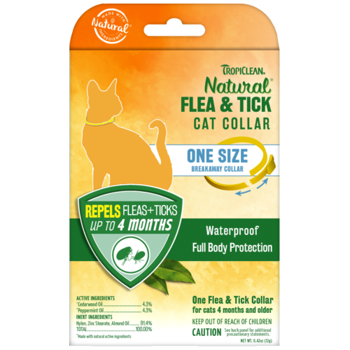 Tropiclean, Cat Healthcare, Flea & Tick, Natural Flea & Tick Cat Collar