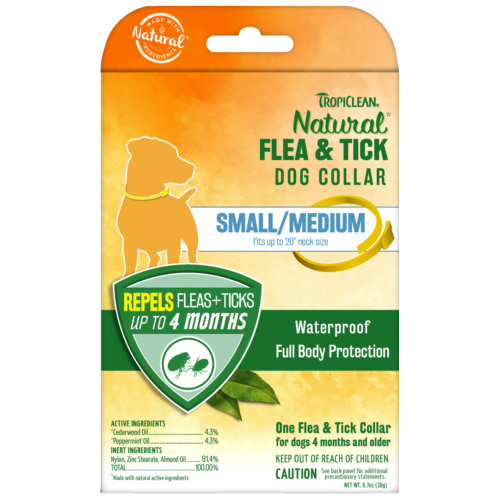 Tropiclean, Dog Healthcare, Flea & Tick, Natural Flea & Tick Dog Collar